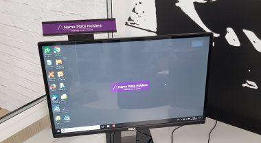 monitor name holder