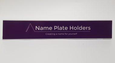 Acrylic Name Plate - 1